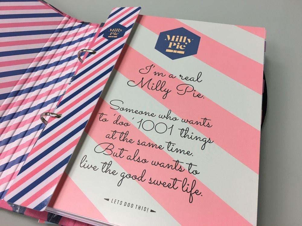 Milly Pie review plannertest TwijfelMoeder linnen verticaal