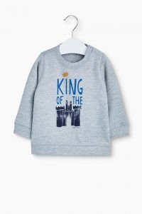 King of the castle trui grijs voor baby boy van Esprit