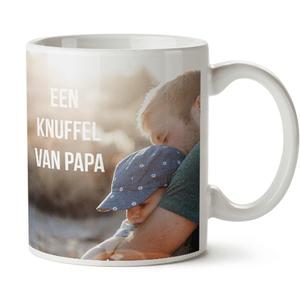 depersonaliseerde mok voor vaderdag
