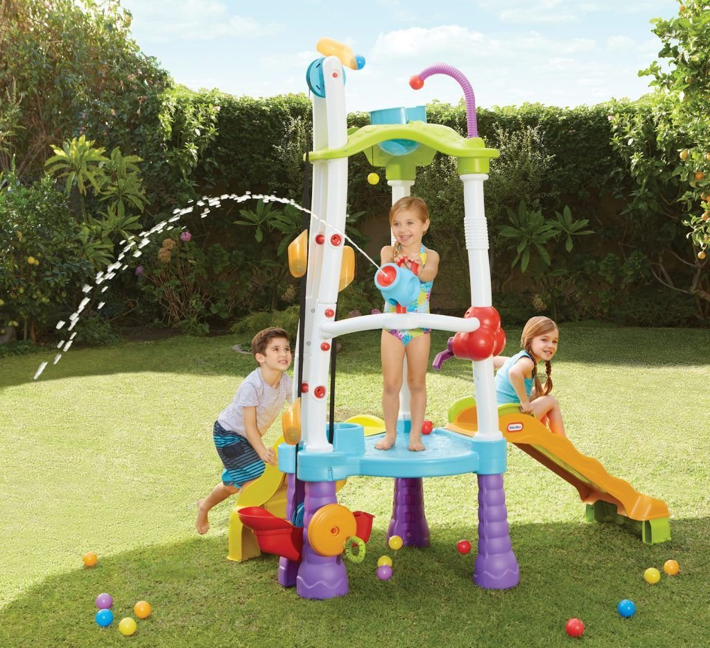 Tumblin Tower waterpret Little Tikes water speelgoed