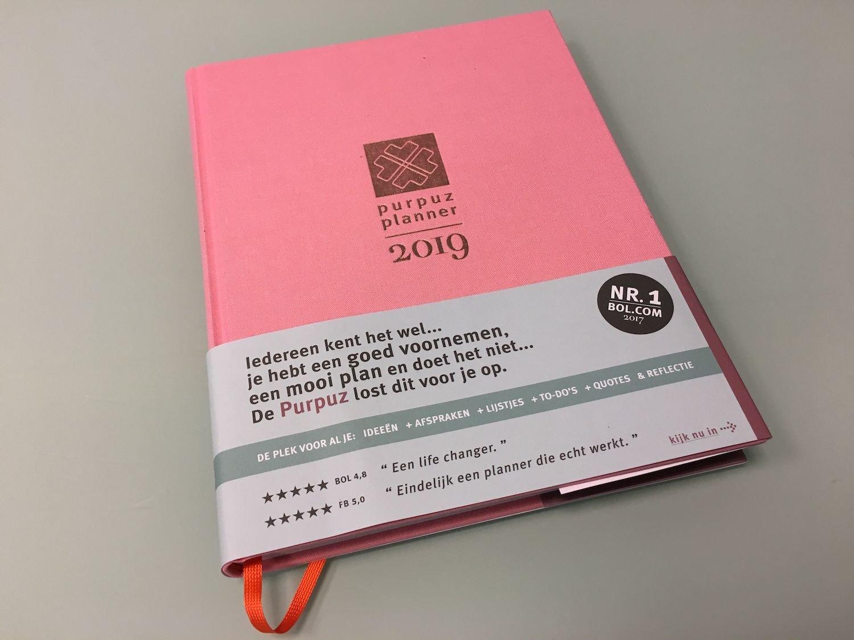 Pink Planner Purpuz 2019