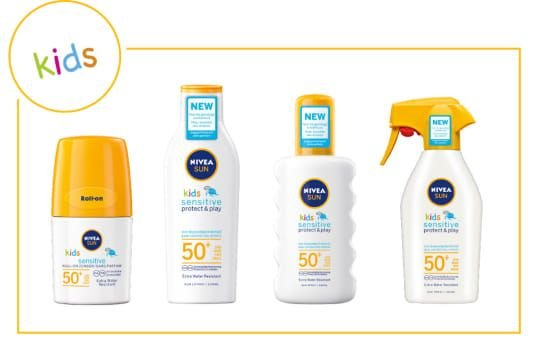 Nivea Sensitive Kids Protect Play zonnebrand