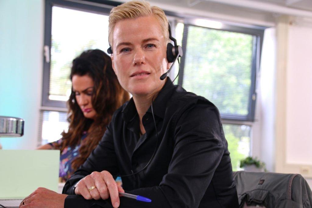 Ellie Lust Celebrity Call Centre