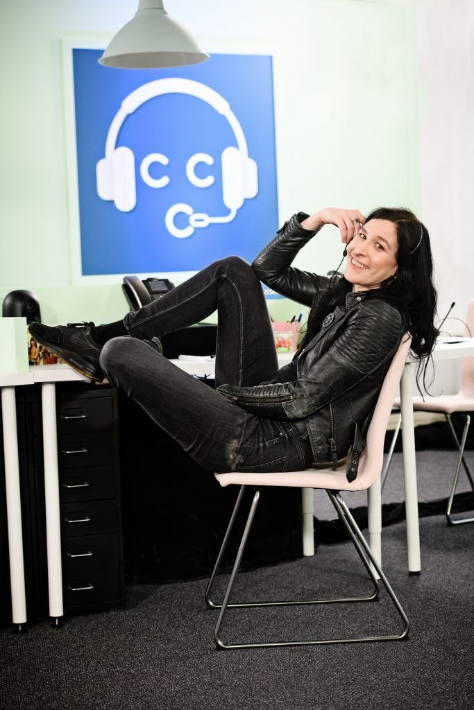 Ryanne van der Dorst Celebrity Call Centre