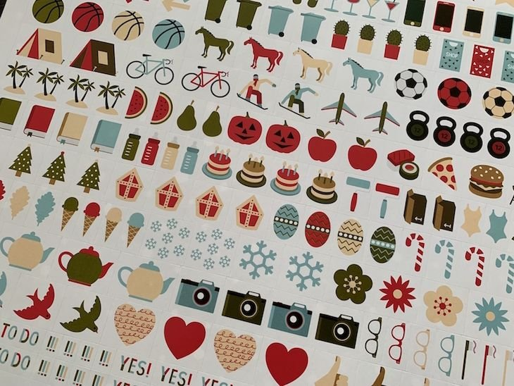 Stickers Kidsproof Familyplanner