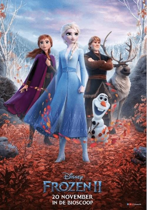 Disney Frozen 2 vanaf 20 november in de bioscoop